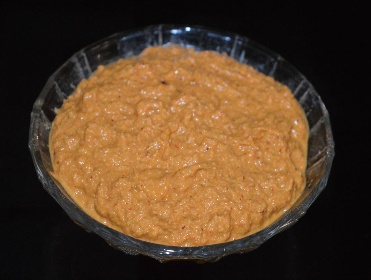 Radish chutney (moolangi gojju)