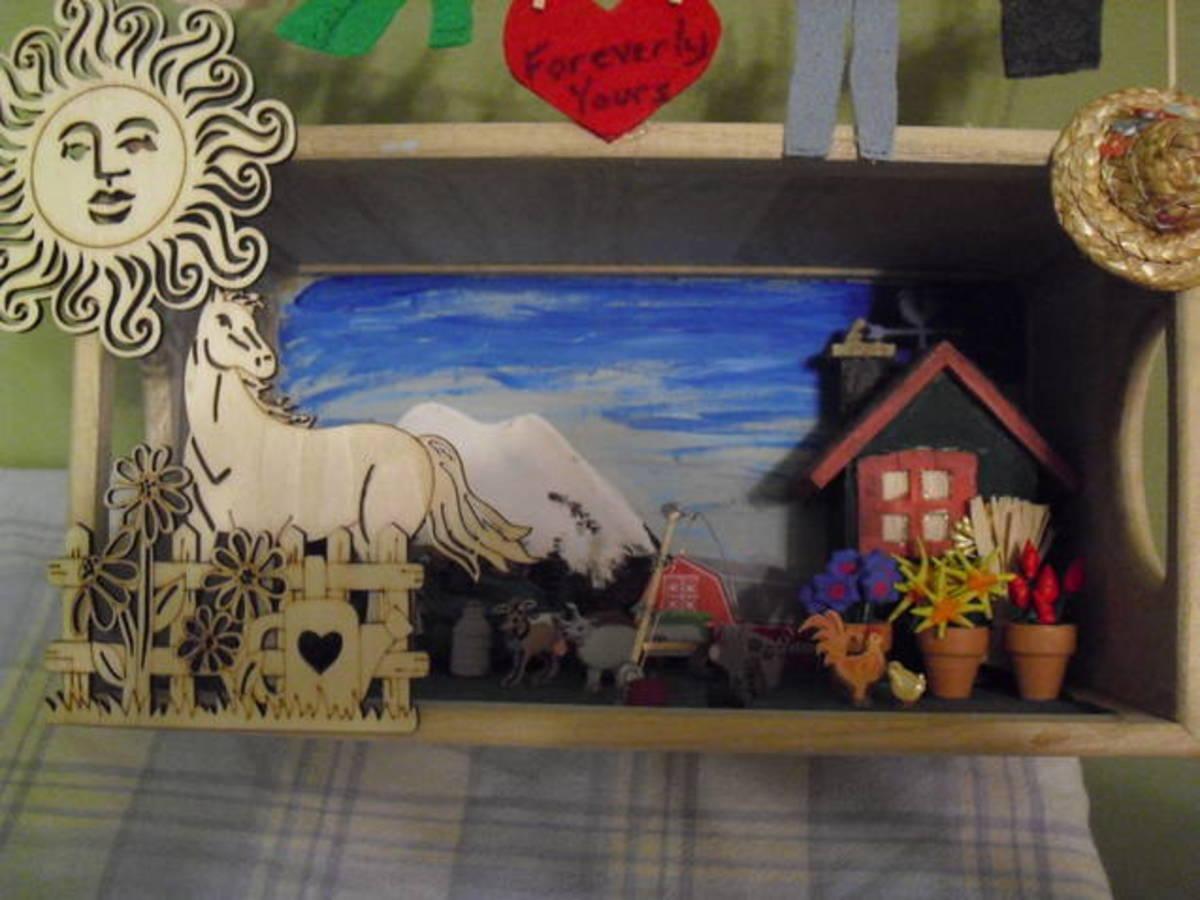 Bev's diorama