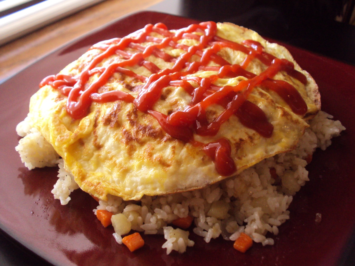 How to make (Korean): Omurice (오무라이스)