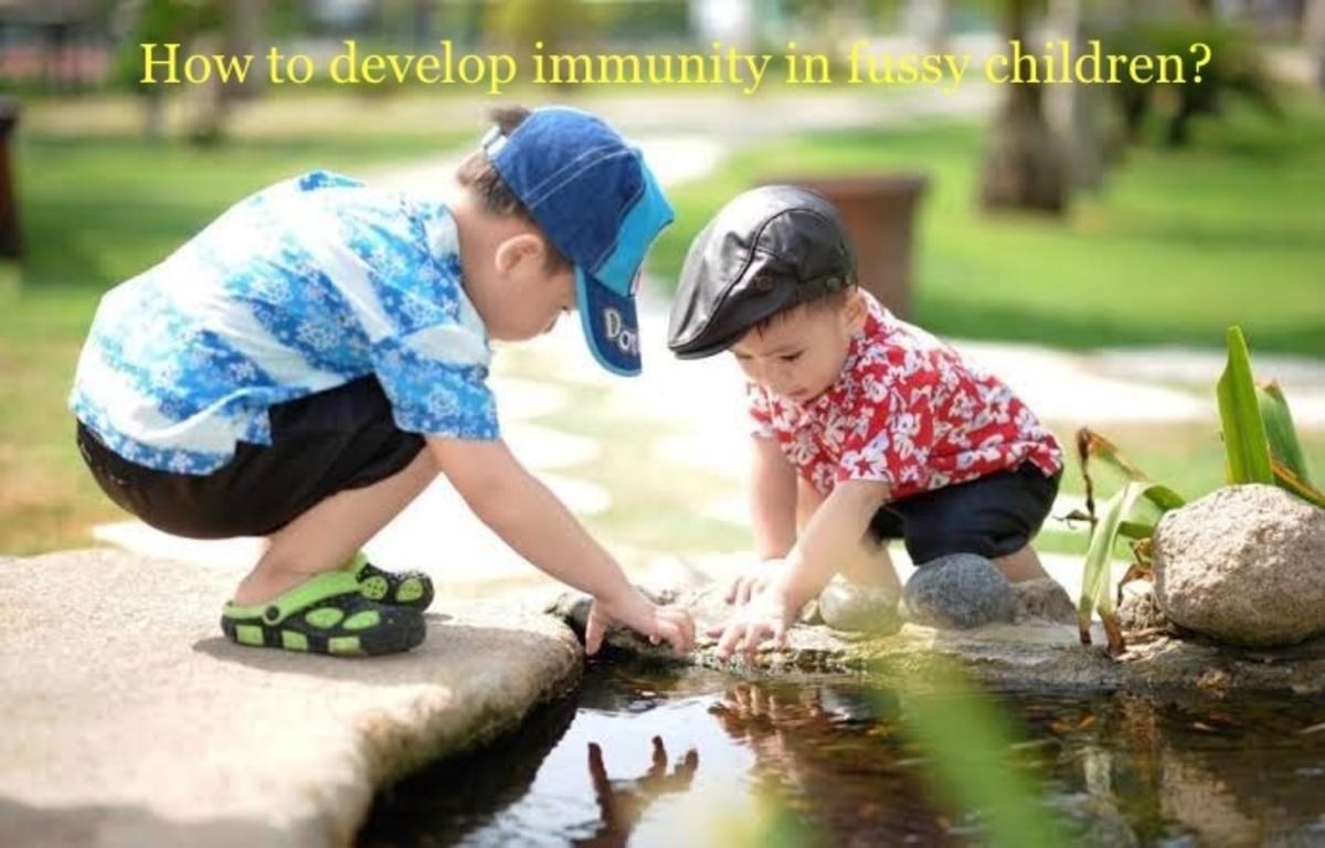 Children have low immunity level