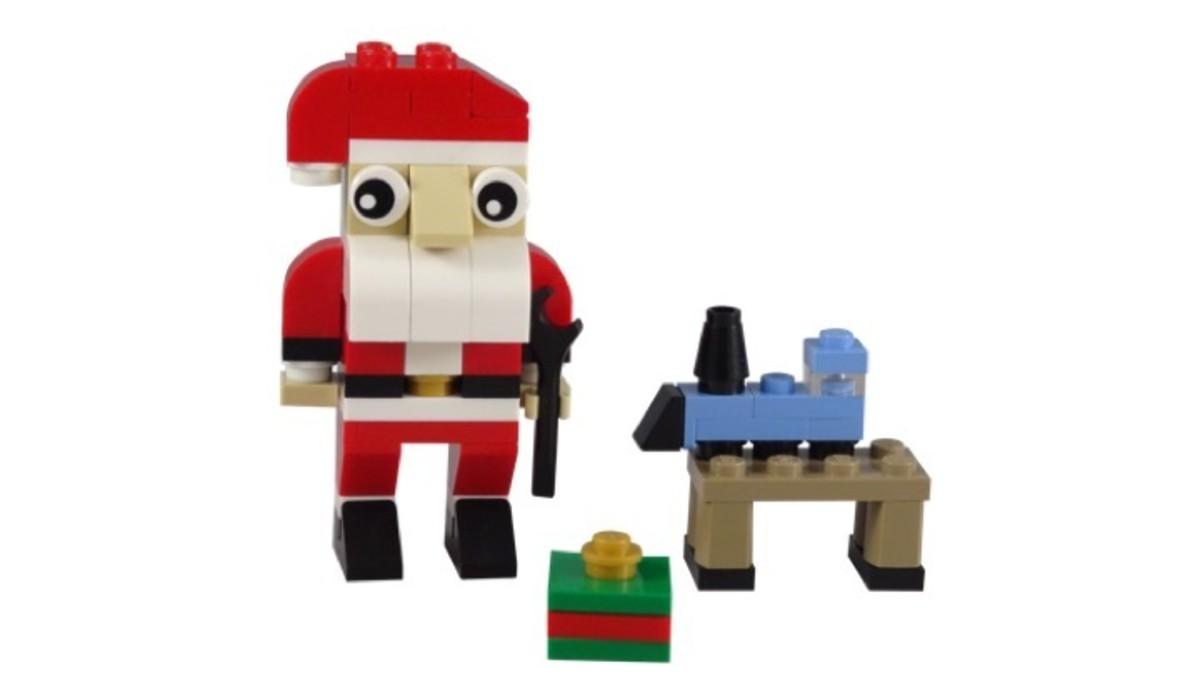 LEGO Creator Santa 30573 Complete Set