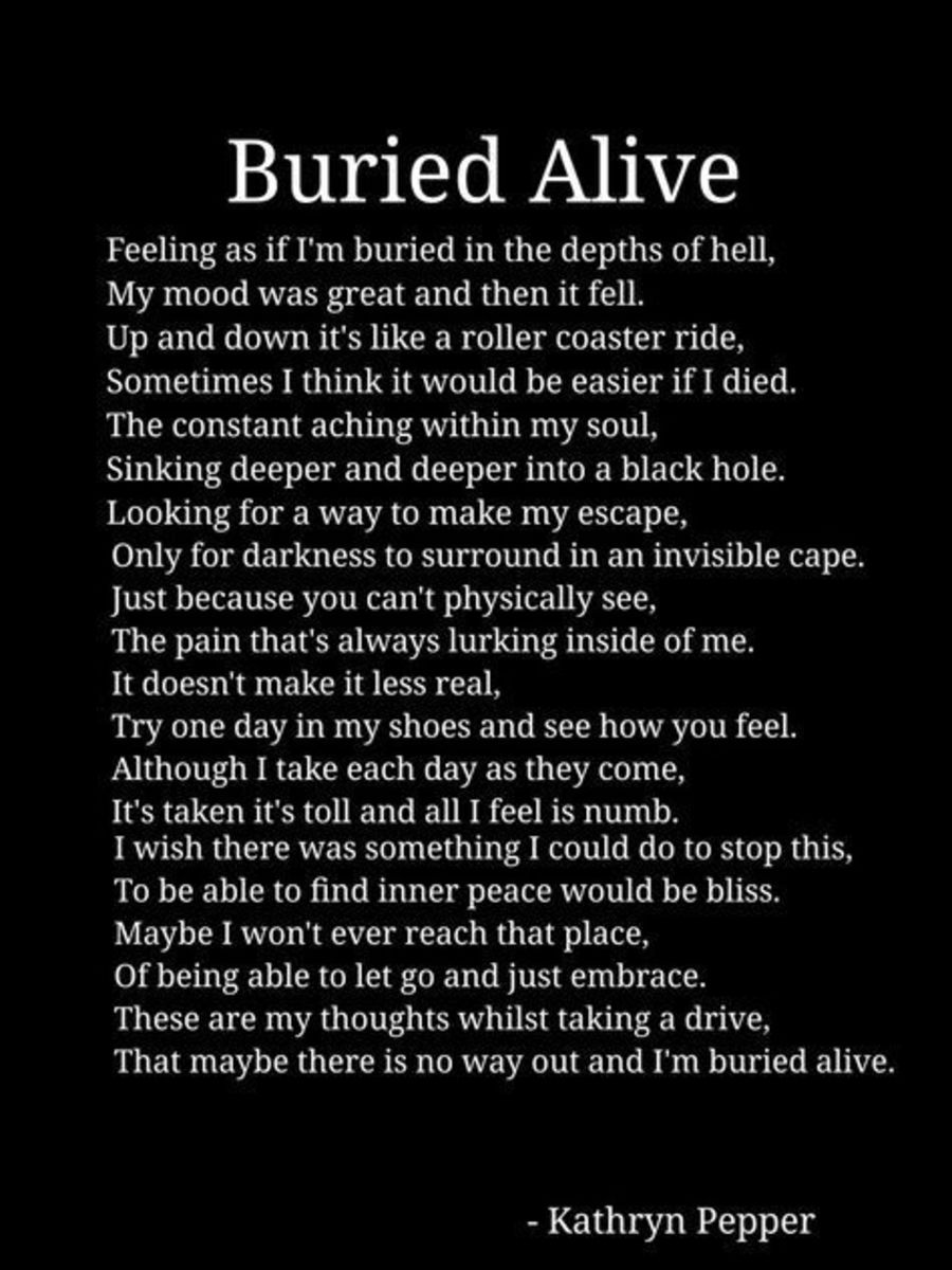 Buried Alive Quotes and Sayings
