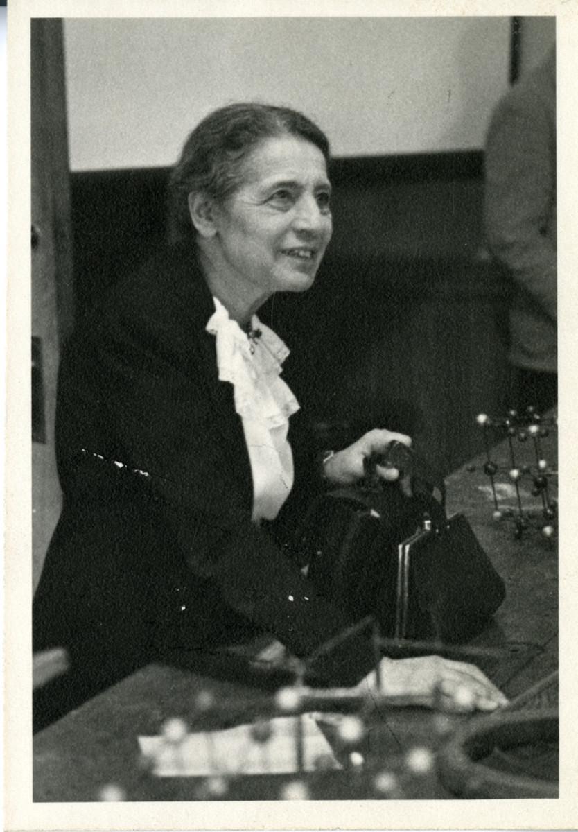 Lise Meitner in 1946.