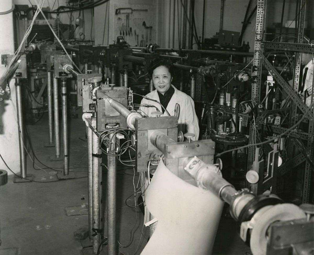 Chien-Shiung Wu in 1963.