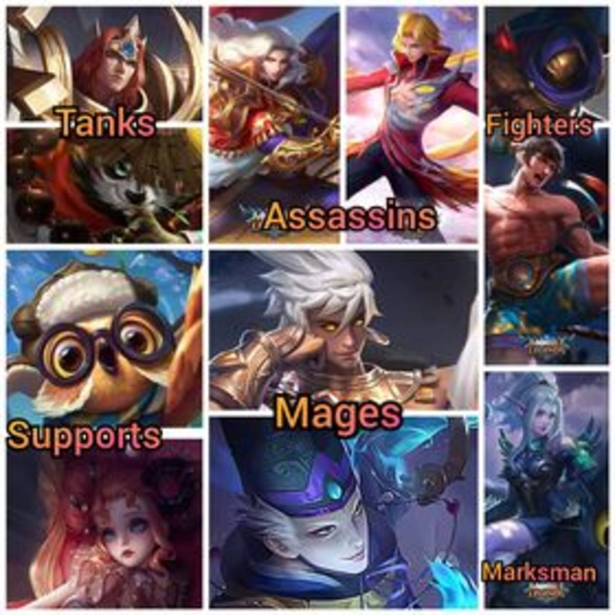 MLBB Heroes and Roles