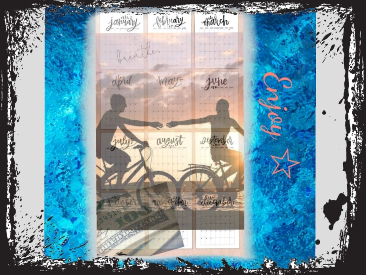 Overcoming Fear Through Vision Board Development 5: Intentions by the Month