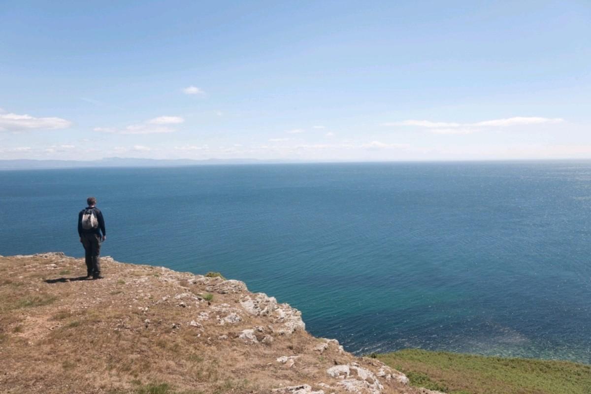 Cardigan Bay - Site of another legendary Lost Kingdom - Cantre'r Gwaelod