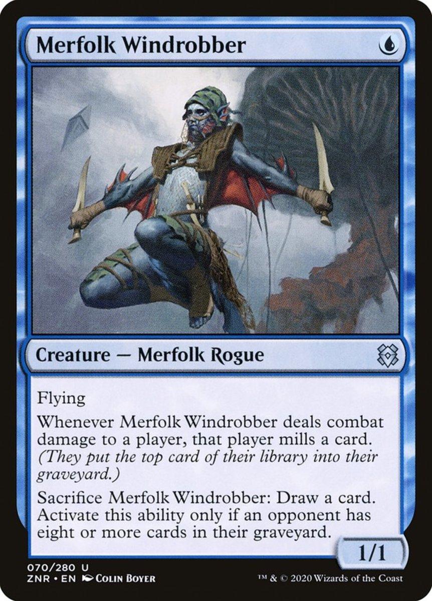 Merfolk Windrobber mtg