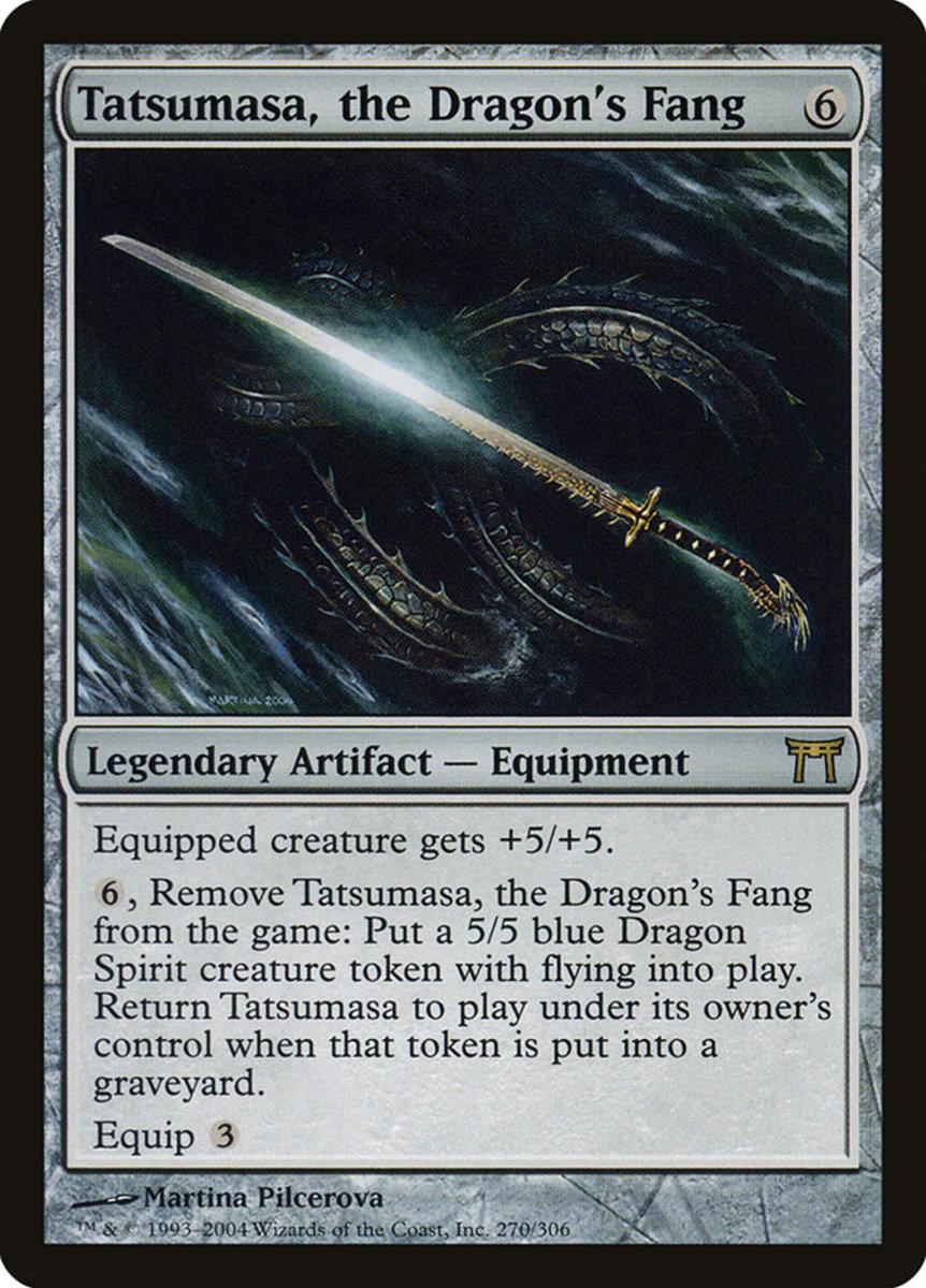 Tatsumasa, the Dragon's Fang mtg