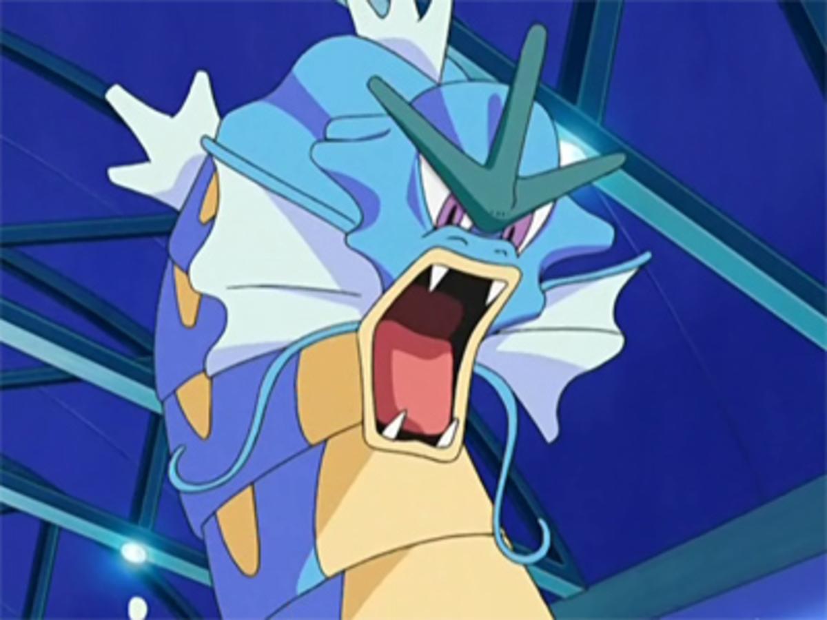 Gyarados as seen in the Anime Series