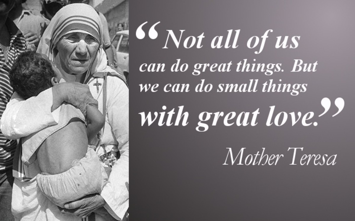 Mother Teresa and The Path of SaintHood