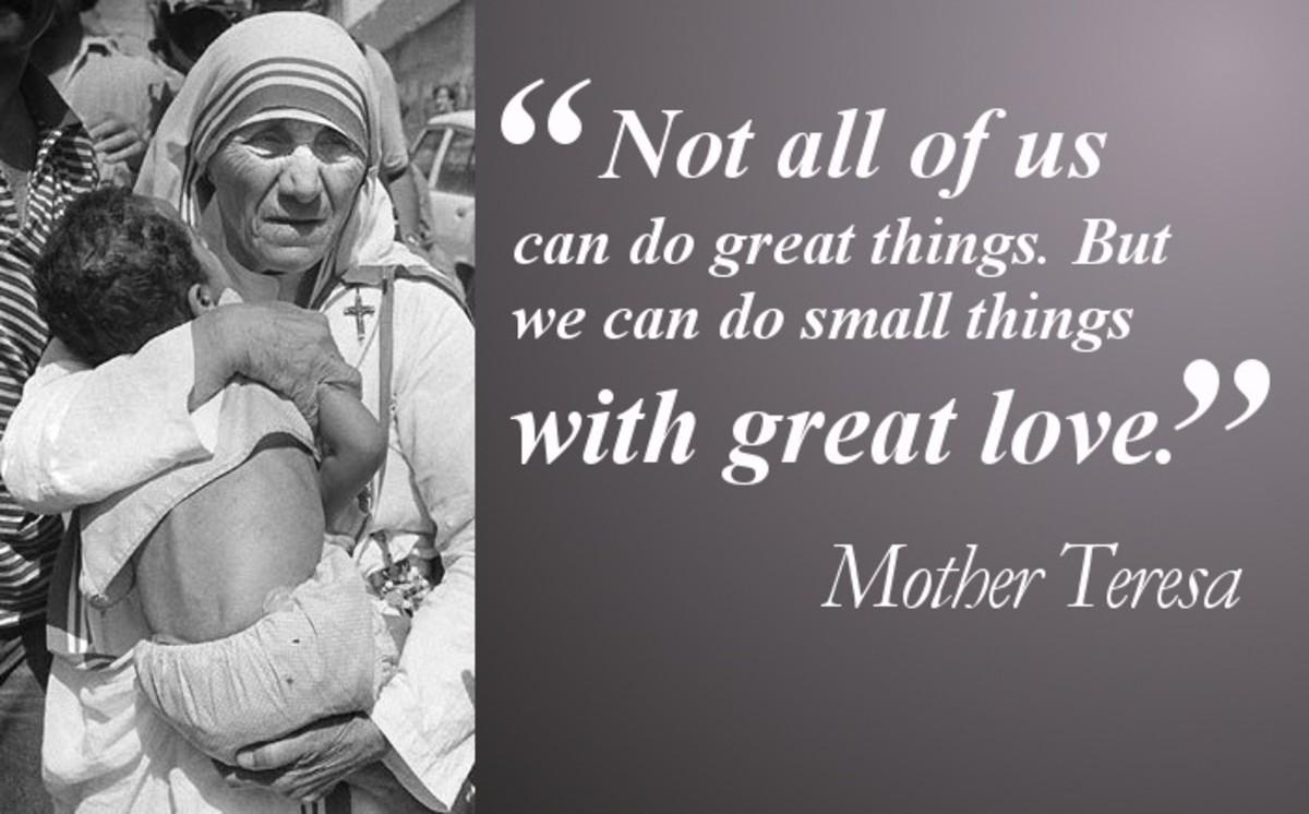 Mother Teresa and The Path of SaintHood