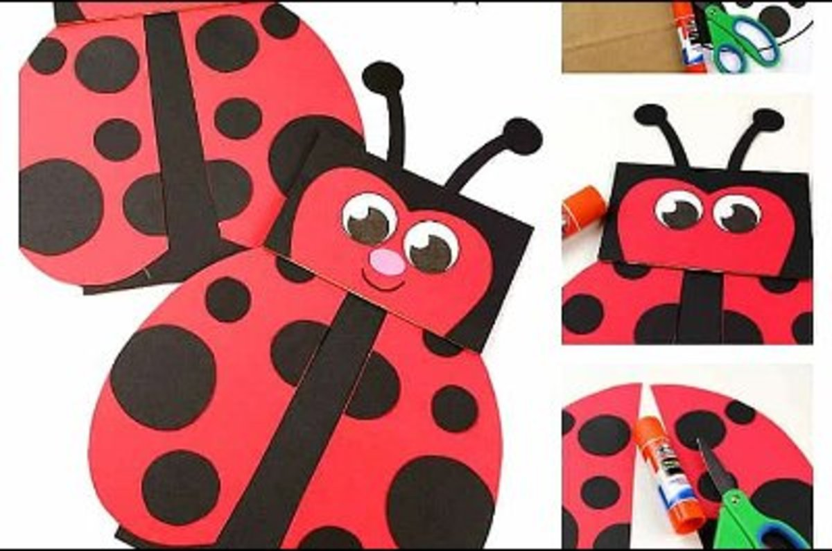 lady-bug-crafts-ideas