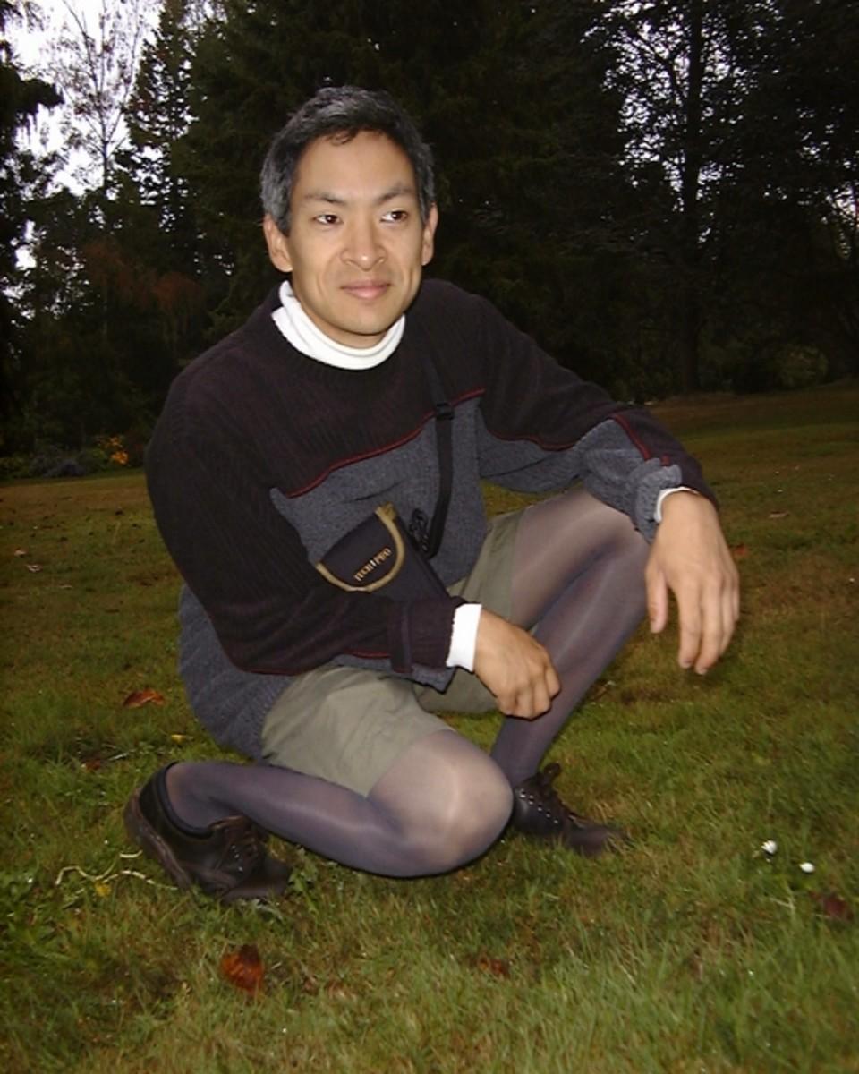 Eugene T.S. Wong - A Man Who Wears Hosiery