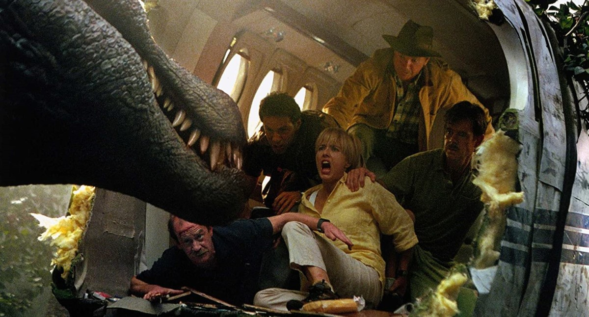 It's a shame the human cast are upstaged by their dinosaur counterparts - the film has little narrative to engage audiences with, reducing the film to a serious of scares.