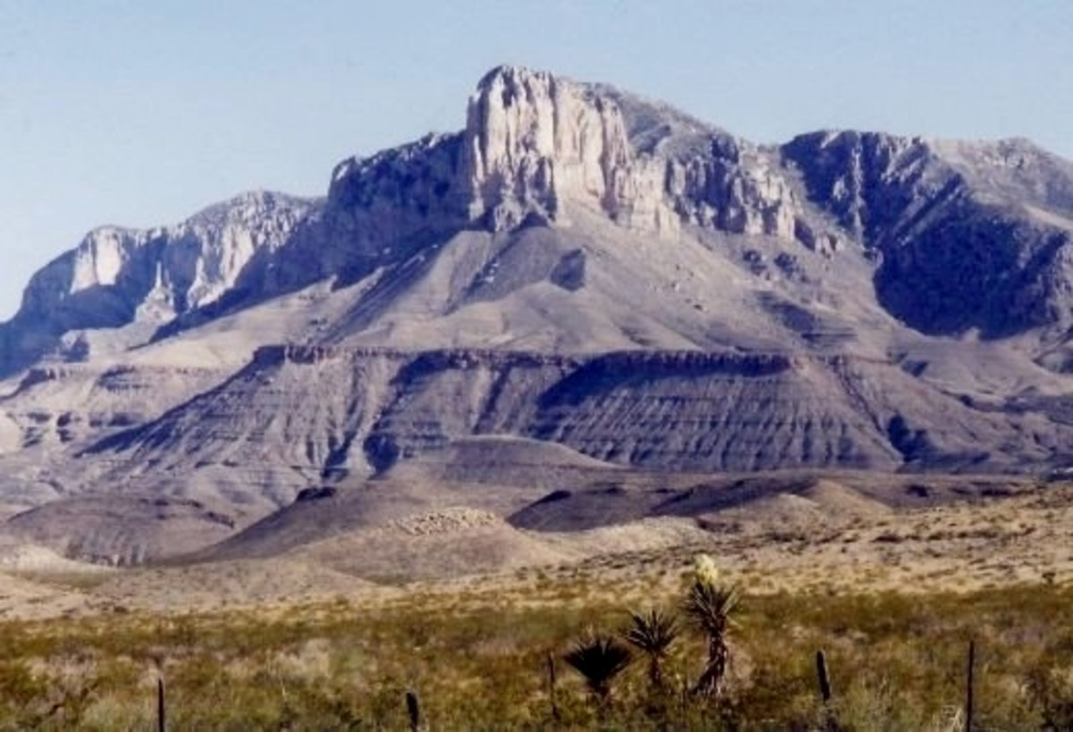 Scenic Guadalupe Mountains National Park in Texas ~ Geological Significance