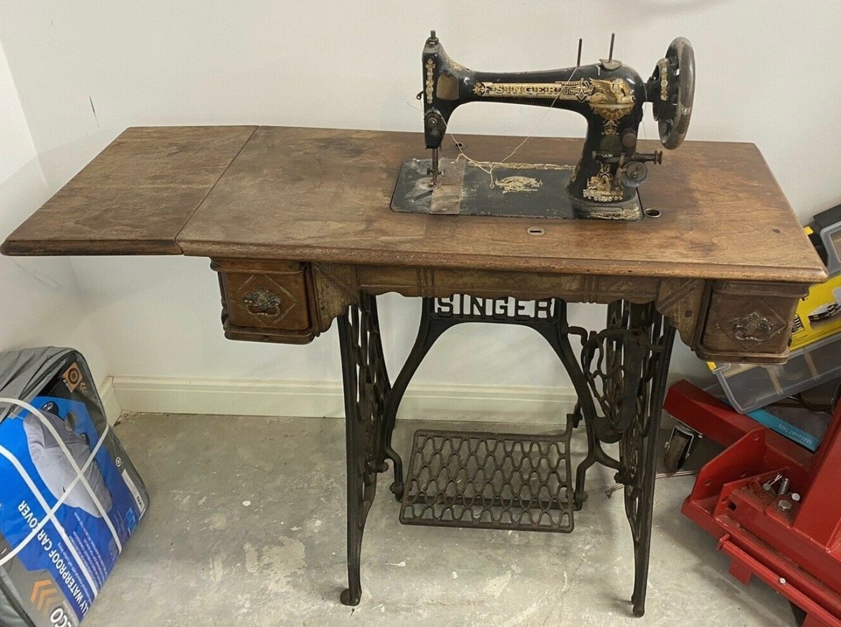 Treadle Machine just like my mother's