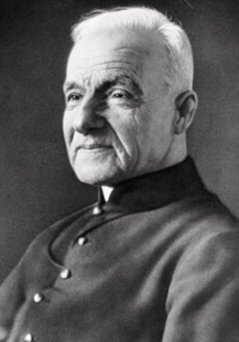 """When you say the Our Father, the Lord's ear is next to your lips."" ~ Saint Andre Bessette, pray for us."