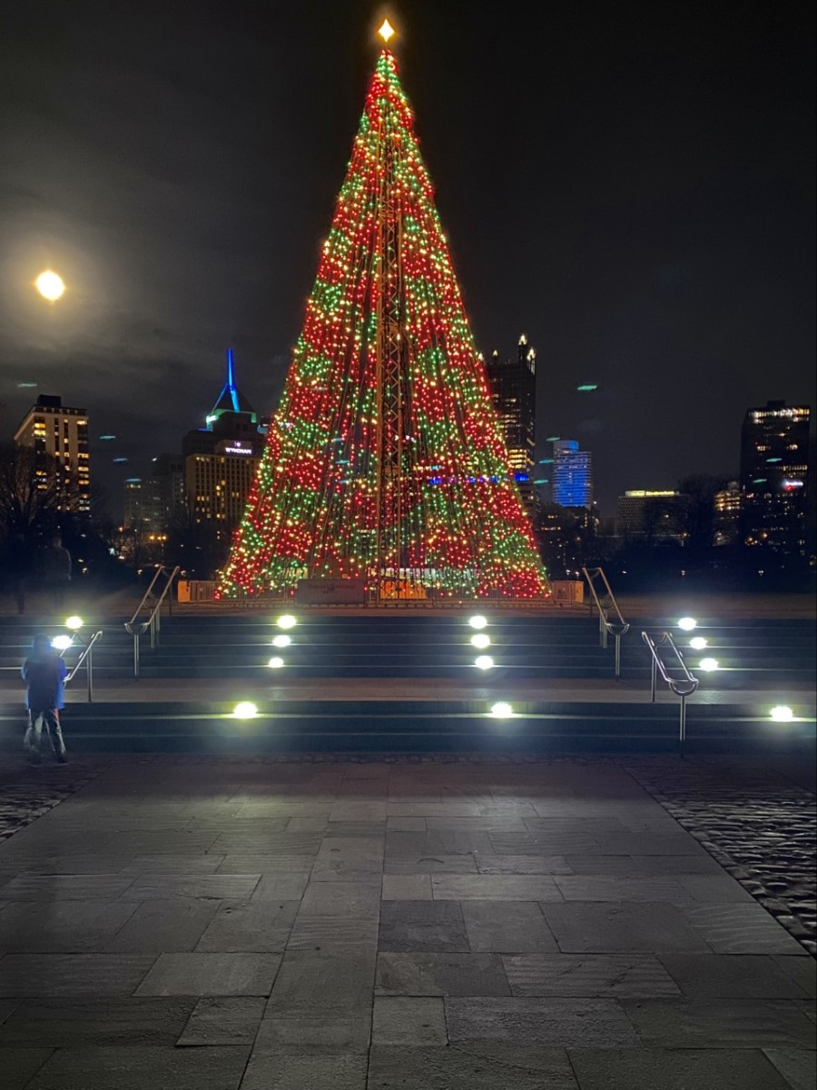 Christmas Tree at Point State Park