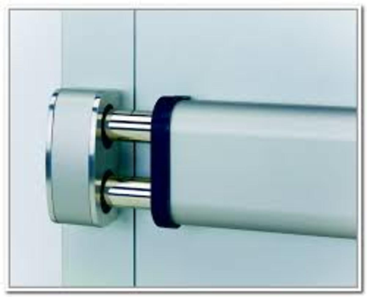Door security bar how they will make your home safe and for Front door security bar