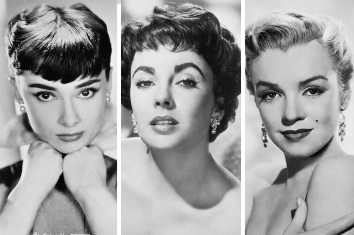 The leading ladies of the 50s eyebrows