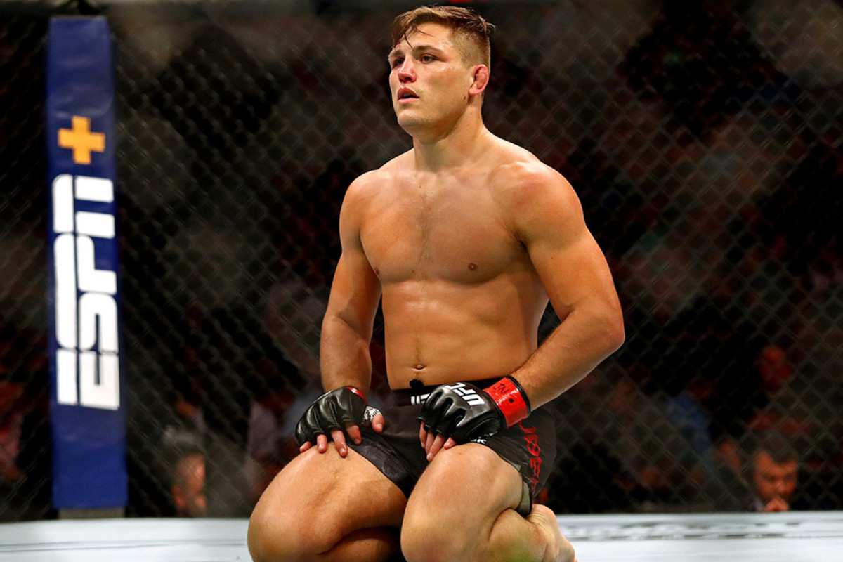 "Drew Dober has one of the shortest legs in the UFC despite standing at 5'8"". Interestingly, he has the same leg reach as 5'3"" John Dodson. Dober's leg reach is only an inch longer than Demetrious Johnson's, who is only 5'3"" like Dodson."