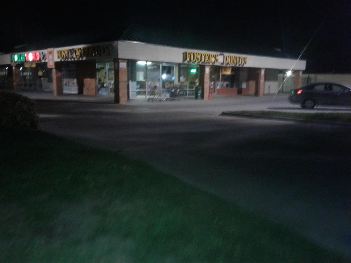 an empty donut shop
