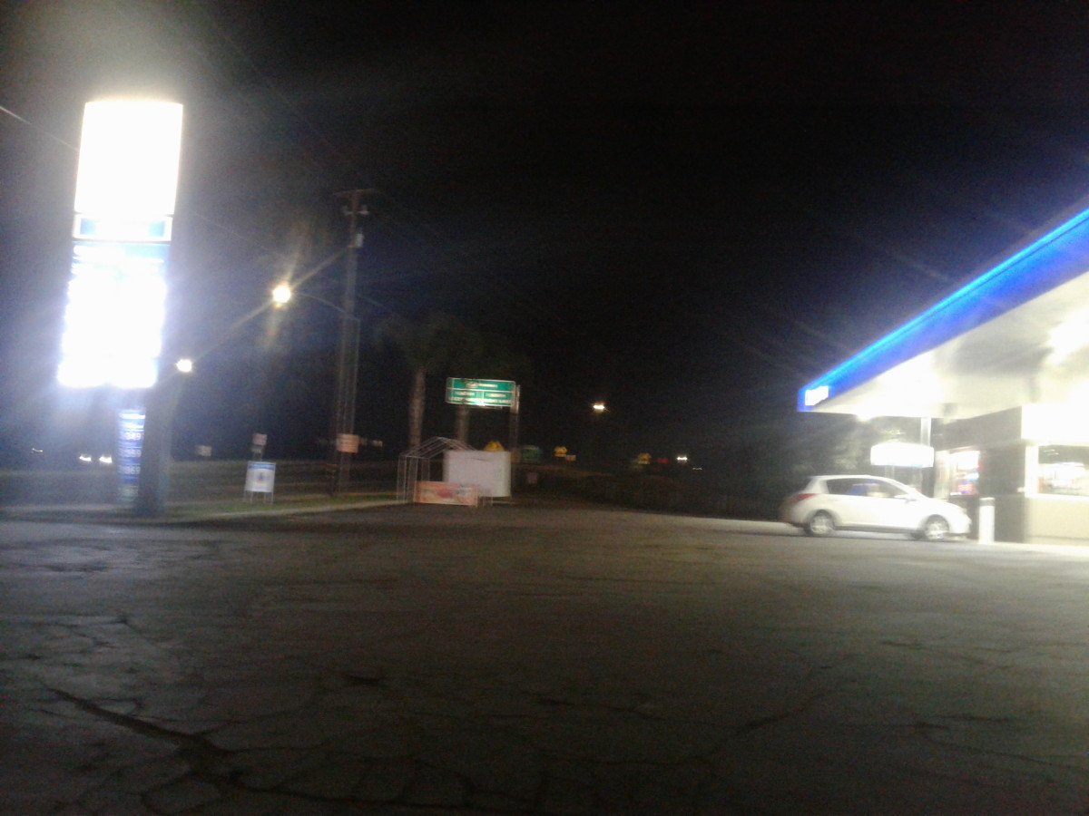 just an ordinary gas station
