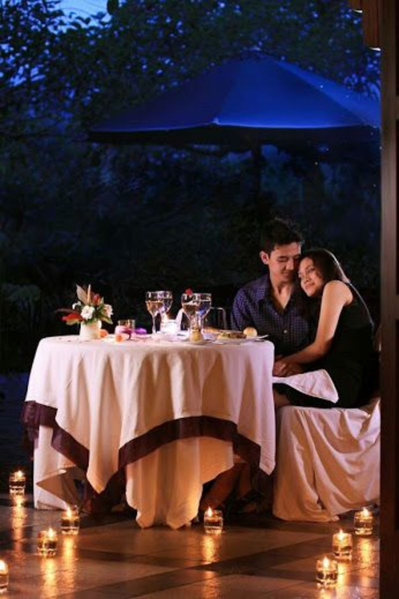 Intimate dimmers are perfect to enjoy your lover alone.