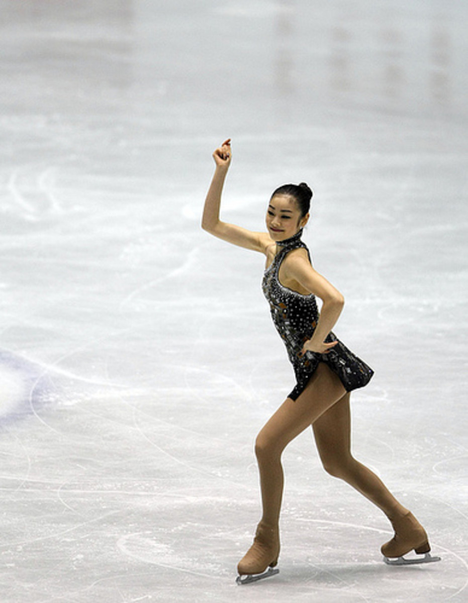 The aesthetic nature of figure skating puts skaters at risk of developing eating disorders