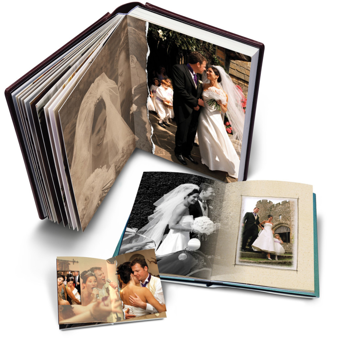 Album of childhood photos --self made sweet memories