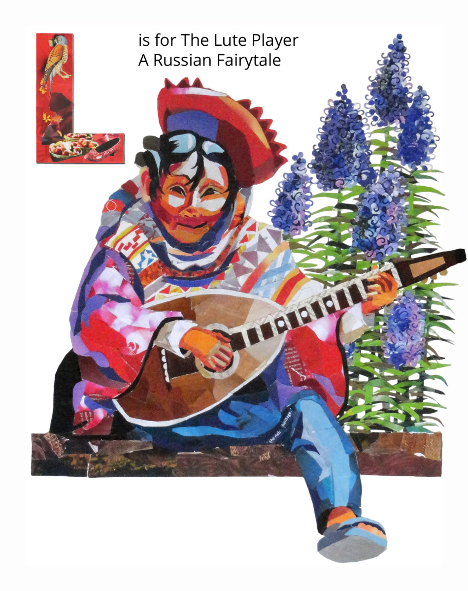 L is for the Lute Player