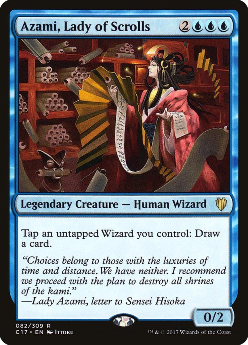 Azami, Lady of Scrolls mtg