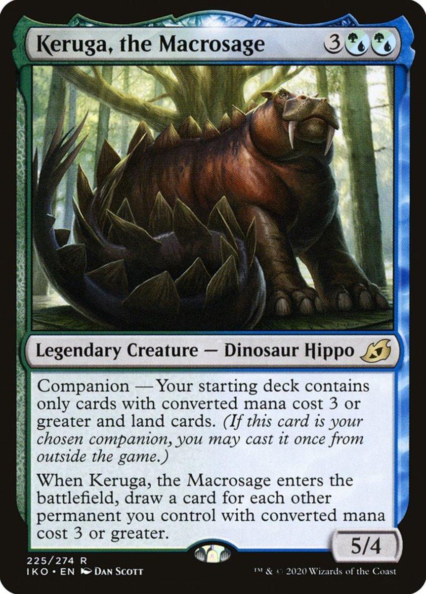 Keruga, the Macrosage mtg