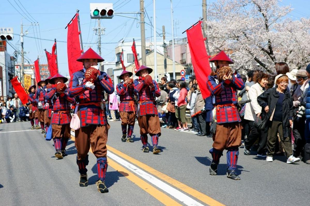 The ashigaru reenactors.