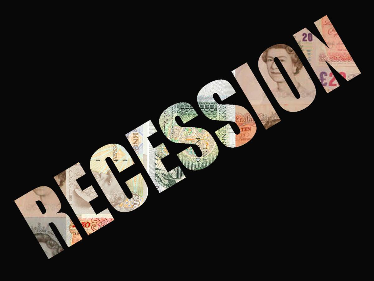 Our present money glitch recession