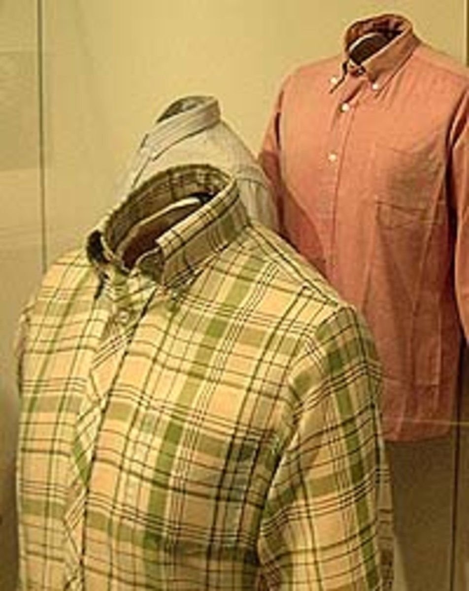 Instant hit. Original 60's classic button down Ben Sherman shirts. Now museum pieces.