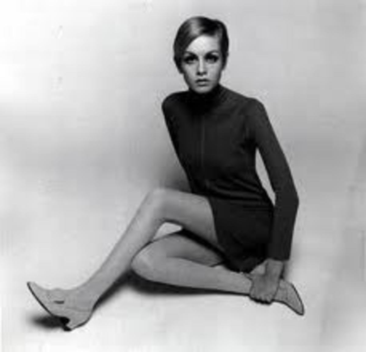 Twiggy...the quintessential Mod chic