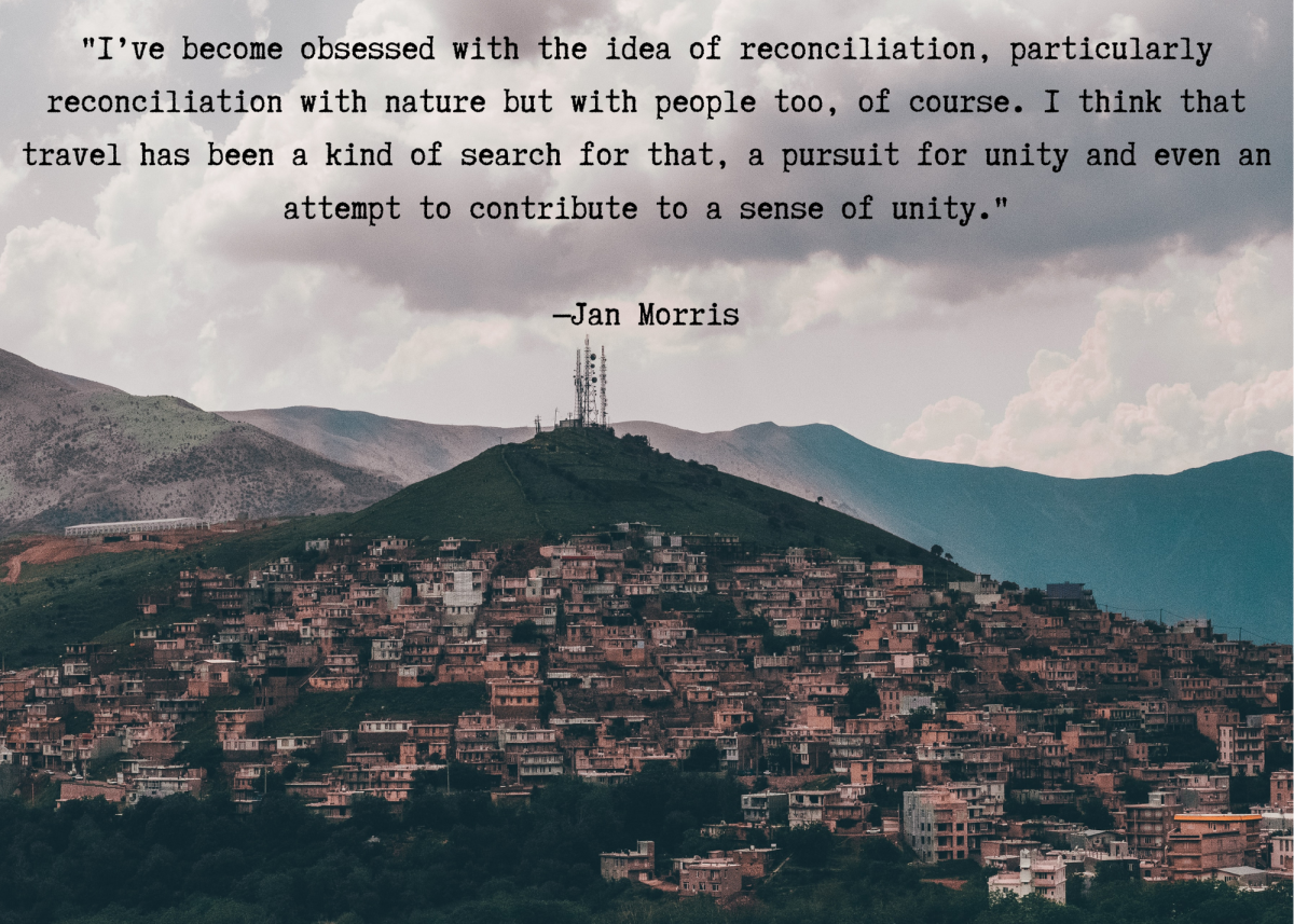 Quote by author Jan Morris