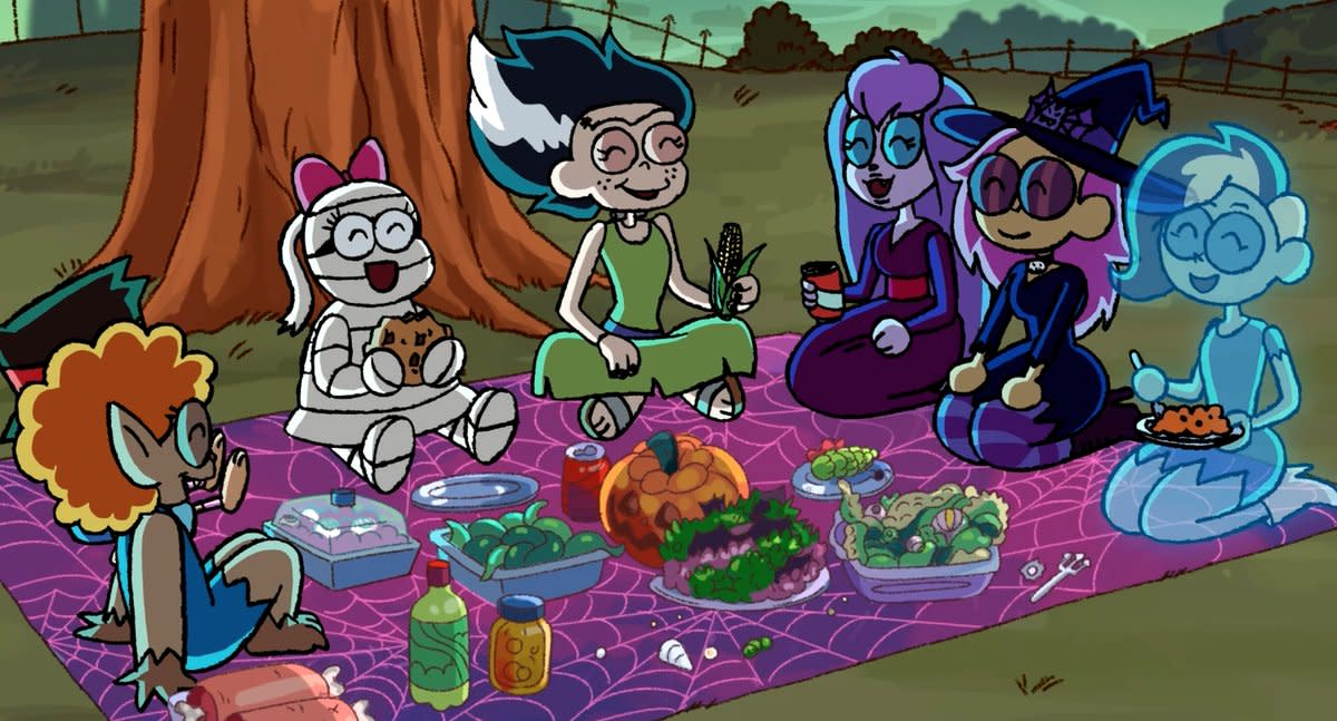 "The Grimwood Girls return in O.K. K.O.! episode ""Monster Party"""