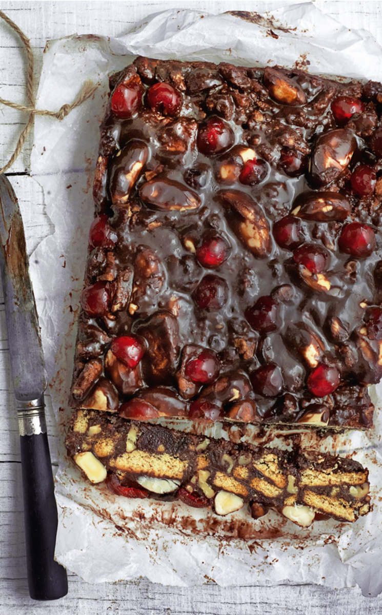 Chocolate fridge cake