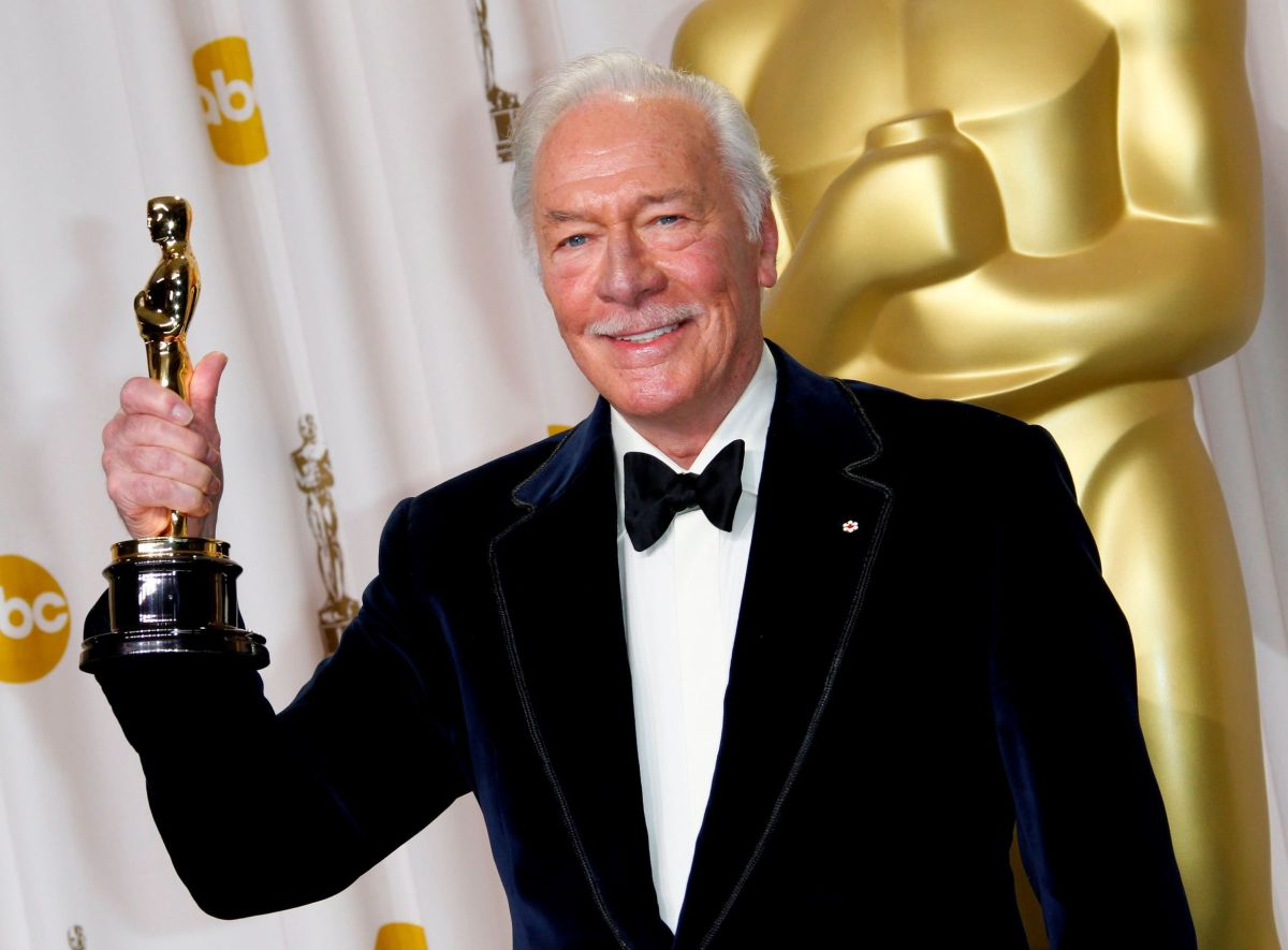Christopher Plummer in 2010, the oldest Oscar winner to date. He was 82 at the time of his win.
