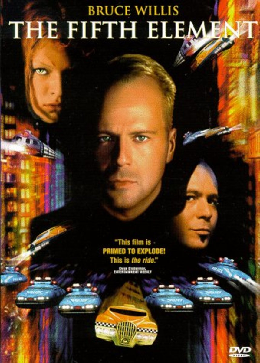 "DVD cover for ""The Fifth Element"""
