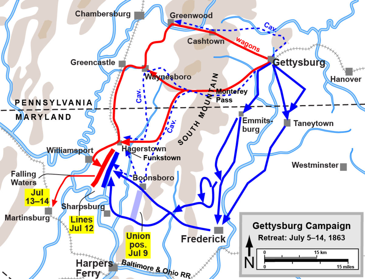 gettysburg-robert-e-lees-second-and-last-invasion-of-pennsylvania
