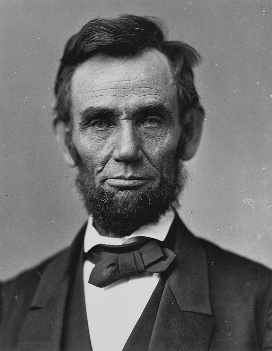 Abraham Lincoln 16th President of the United States. He held office March 4, 1861 – April 15, 1865. Soon after the end of the Civil War an assassin would strike him down leaving the country temporarily in a state of chaos.