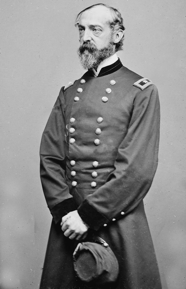 On June 28,1863, just four days before the battle of Gettysburg, General George Meade was placed in command of the Army of the Potomac. It was the fifth change of command in ten months for the Army of the Potomac.
