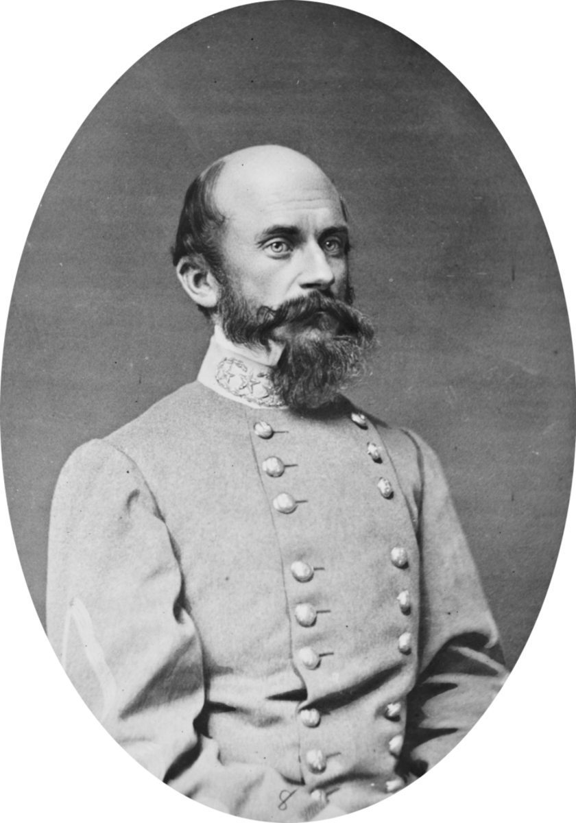 "Confederate General Richard S. Ewell took command of ""Stonewall"" Jackson's troops after he death at Chancellorsville."