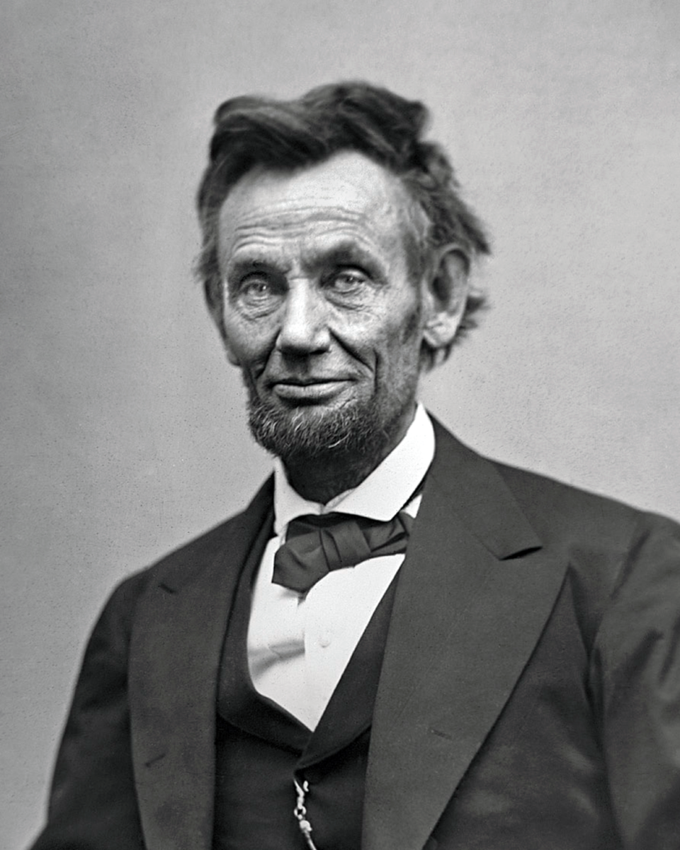 Lincoln in February 1865, two months before his death at the hands of John Wilkes Booth. He prophesized that the nation would rise from the war, purged by the great suffering of slavery and sectionalism, and be stronger and greater than ever before.
