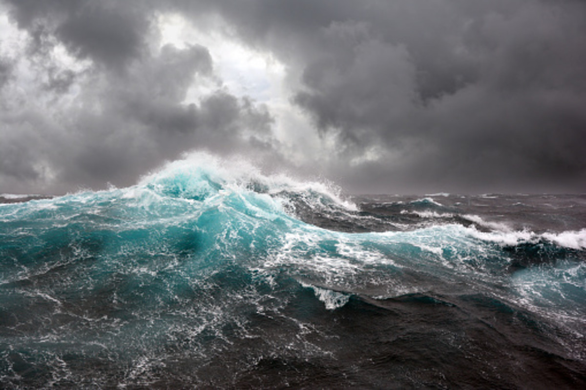 Violent storms were the undoing of many mighty ships throughout history.