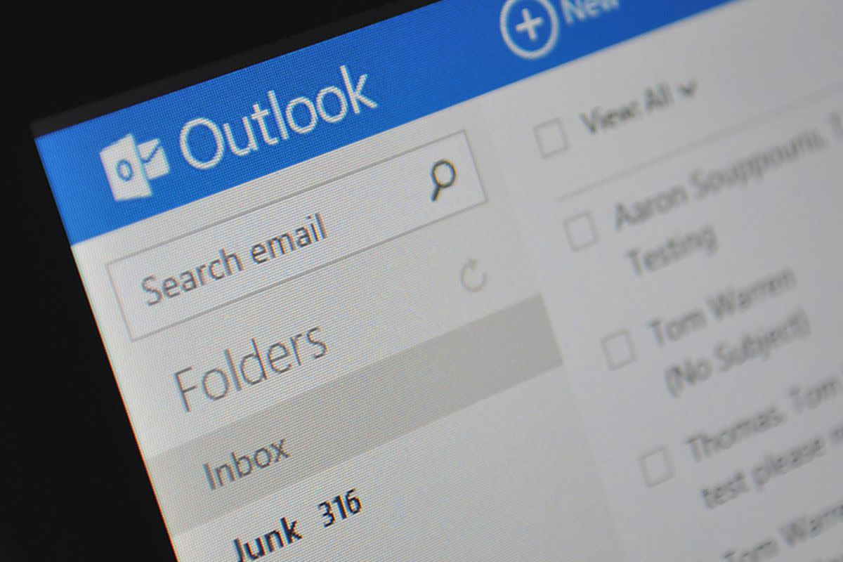 Image of Microsoft Outlook  Source: The Verge